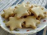 Bredele  Cinnamon star (Alsatian Christmas cookie)