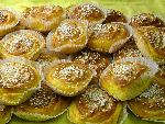 Almond filled Saffron buns