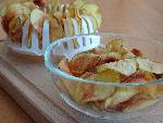 Homemade Japanese potato chips