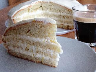 Limoncello cake with mascarpone
