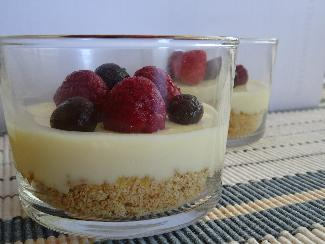 Small cheesecake dessert
