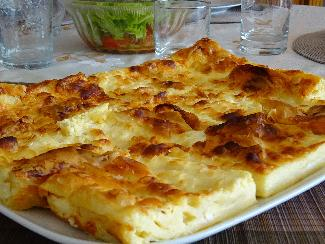 Serbian cheese pie - Gibanica