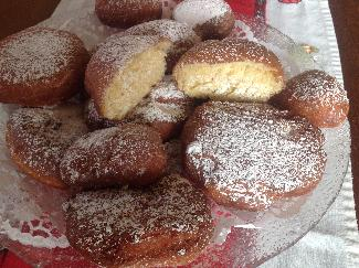 French Beignet -deep fried pastry