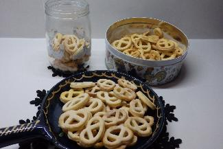 Mini bretzel - Alsatian Christmas cookies