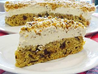 Ice coffee cake