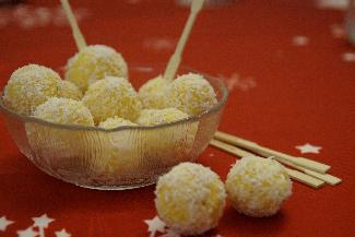 Swedish Saffron balls