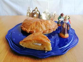 Traditional French Galette des Rois