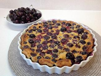 French Cherry Cake