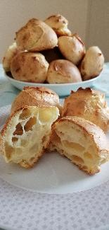 Gougères - French cheese bread